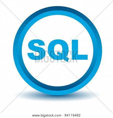 Blue sql icon