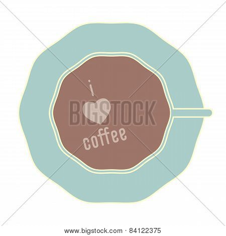 Sweet cup of coffee
