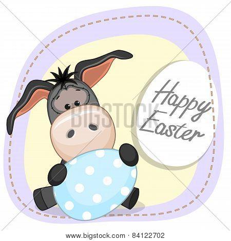 Donkey With Egg