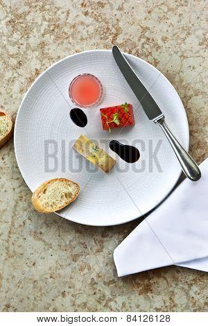Foie Gras And Watermelon
