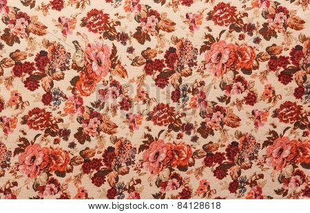 Red Vintage Pattern
