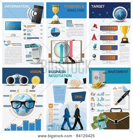 Business And Financial Chart Diagram Infographic