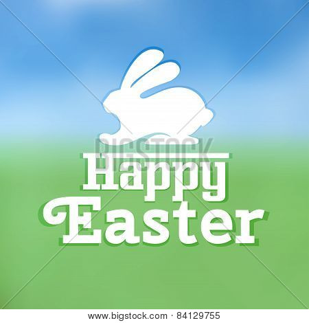 Typographic Text On Easter Theme Vector