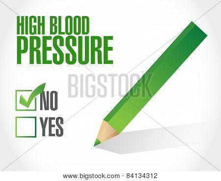 Low Blood Pressure Concept Illustration