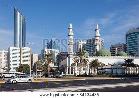 Sheikh Khalifa Mosque In Abu Dhabi