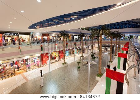 Interior Of The Marina Mall, Abu Dhabi
