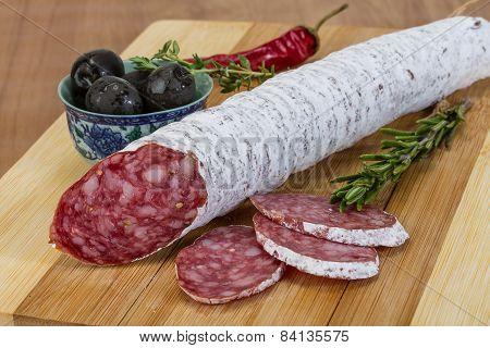 Fuet Sausage