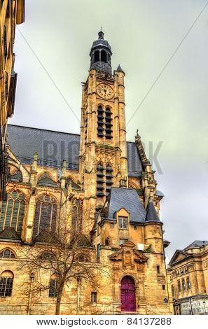 Saint-etienne-du-mont, A Church In Paris, France