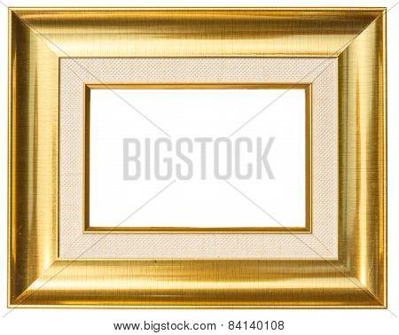 Smooth Frame Gold Stripes