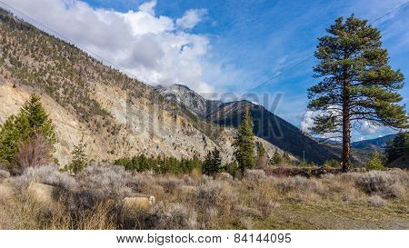Rugged Mountain in the Fraser Canyon