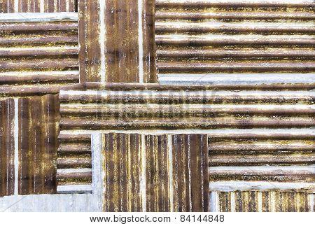 Galvanized Pattern Background