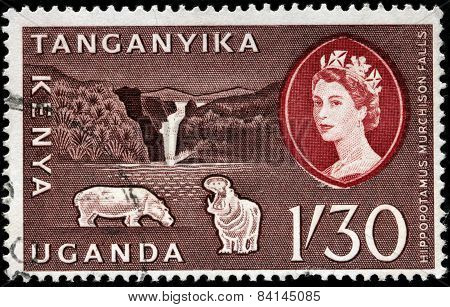 Murchison Falls Stamp