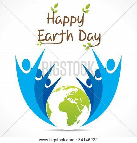earth day design vector