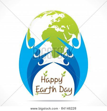 people celebrate earth day design