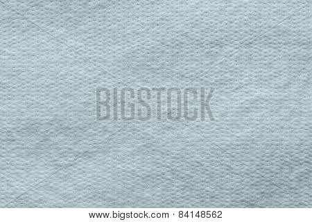 Texture Wadded Fabric Of Silvery-blue Color