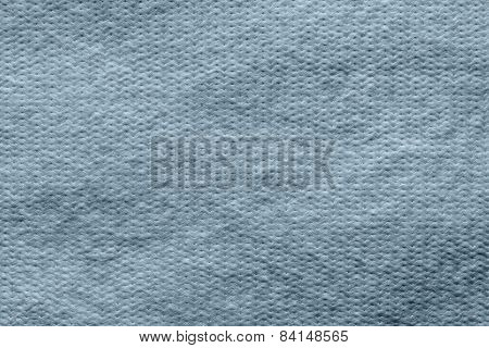 Texture Wadded Fabric Of Silvery Color