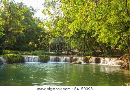 landscape for waterfall