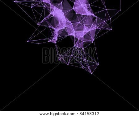 Violet Cybernetic Particles