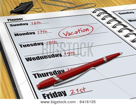 Vacation Schedule