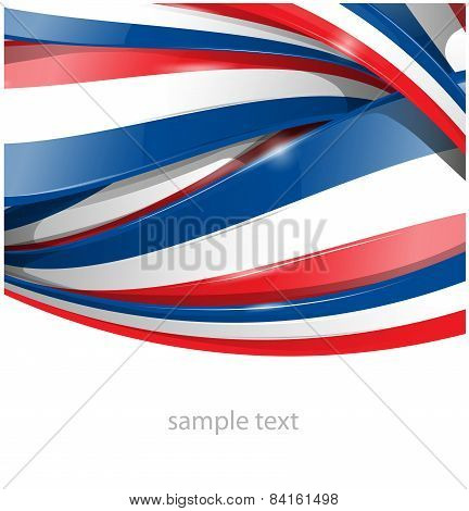 france Background With Flag Set