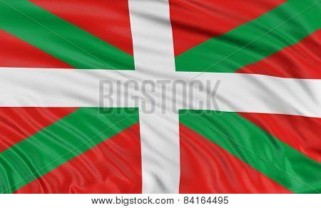 3D Basque Country flag