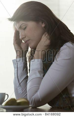 Suffering Woman