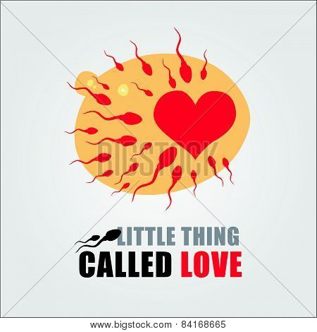 little thing called love (sperm and ovary)