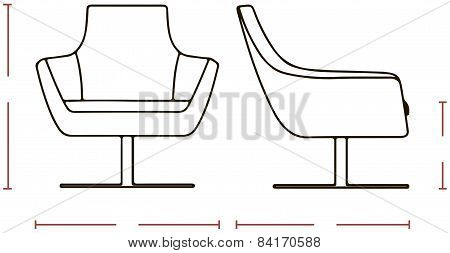 Sizes Office Chair