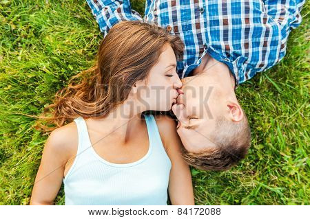 Tender Kissing.
