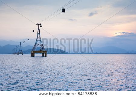 One of the world's longest cable car over sea, Vietnam