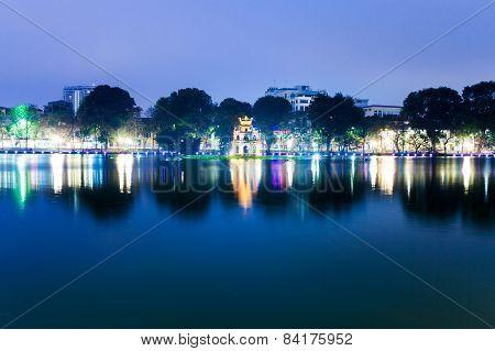 Tortoise Tower, Hanoi
