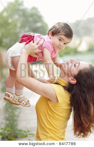Mother Raising Daughter