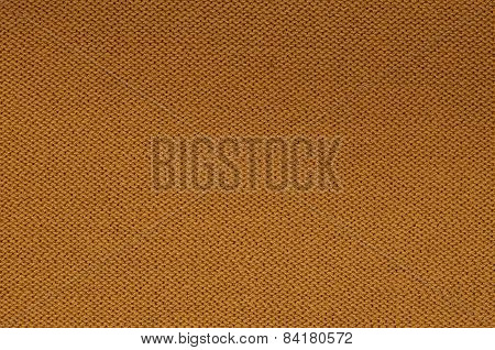 Rust Colored Knitted Background Pattern