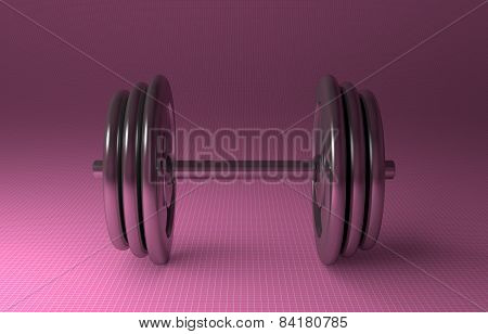 Adjustable Metallic Dumbbell