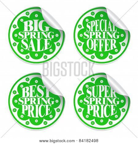 Best spring sale ,stickers set
