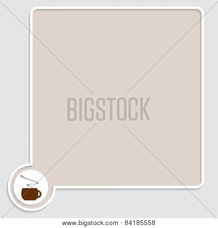 Brown Text Box