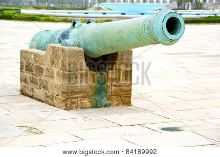 Bronze Cannon In Africa