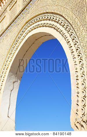 Morocco Arch In Africa Old Construction