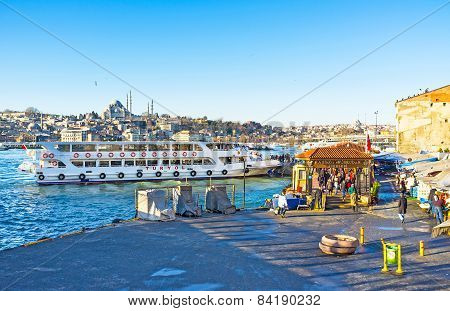 The Istanbul Ferry