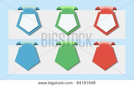Character set bookmarks for website design