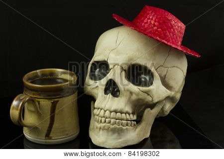 Skull And Hat