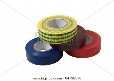 Color Insulation Tape Rolls
