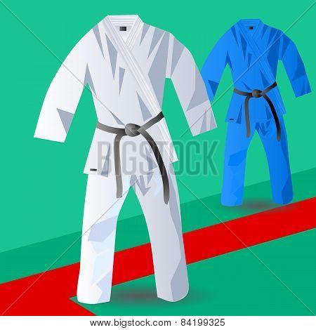 Two Kimono For Judo