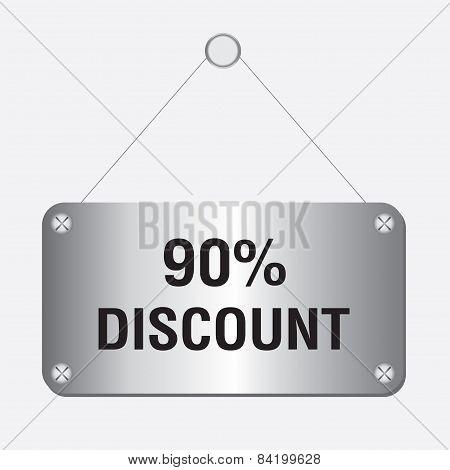 silver metallic 90 percent discount