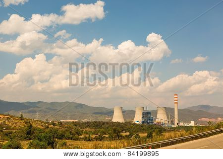 Nuclear Electrical Power Plant