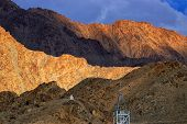 picture of jammu kashmir  - Brown colourful rocks and stones  - JPG