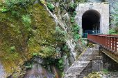 picture of tunnel  - An old train tunnel not in use and a good scenic walk for a tourist.  ** Note: Soft Focus at 100%, best at smaller sizes - JPG