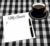 picture of white gold  - White paper with  - JPG