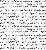 stock photo of handwriting  - Seamless background of abstract  handwriting - JPG