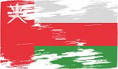 pic of oman  - Flag of Oman with old texture - JPG